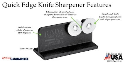Rada quick-edge-knife-sharpener-features